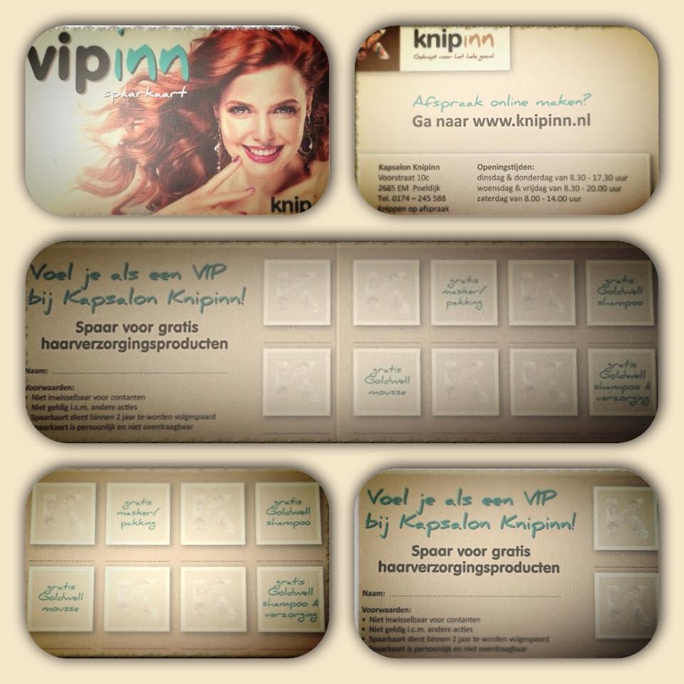 VIPinn spaarkaart